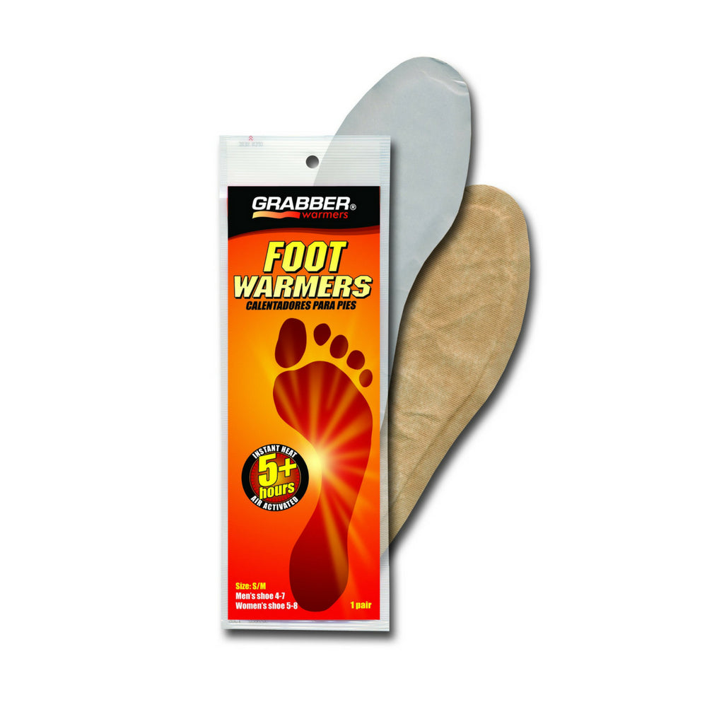 Grabber S/M Insole Foot Warmers