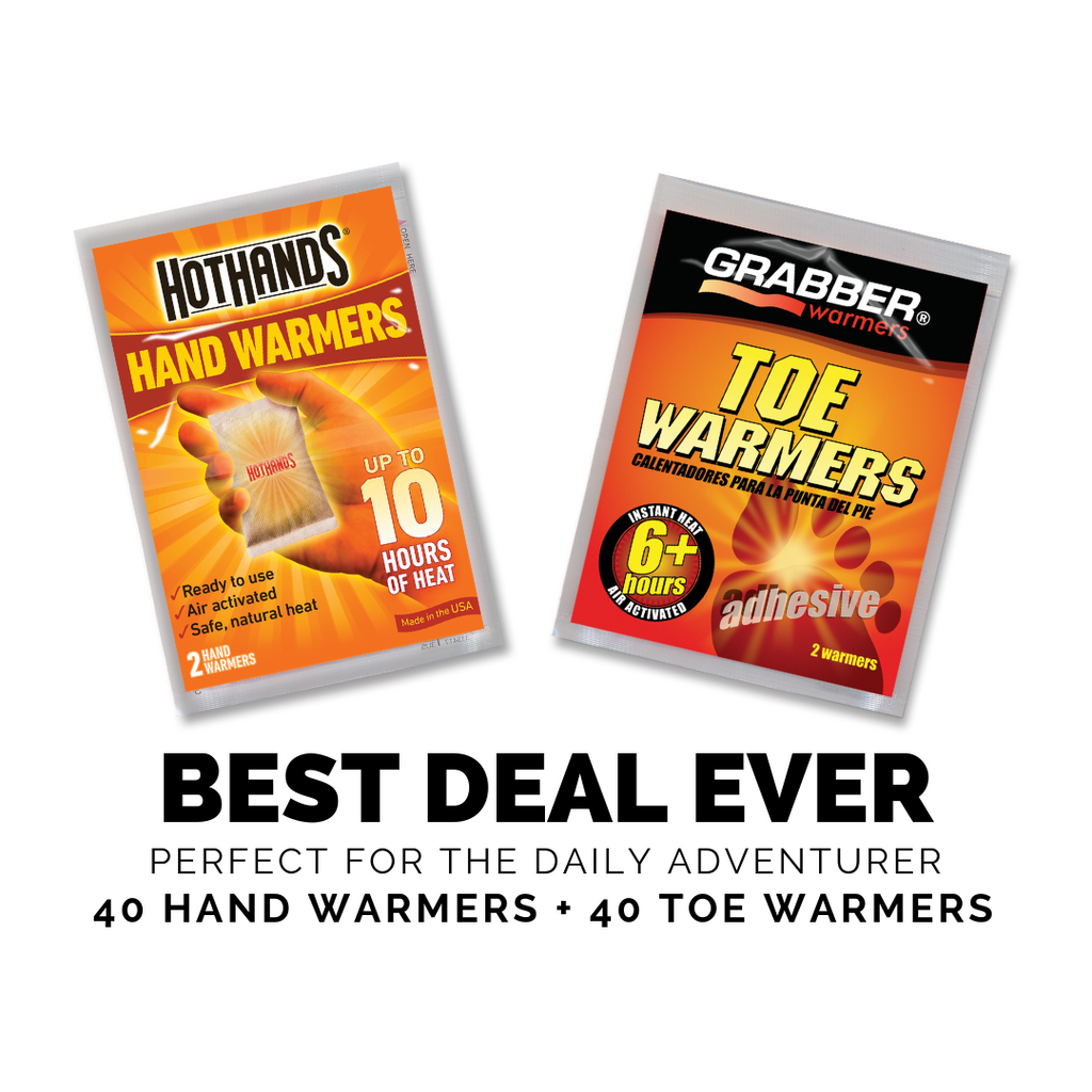 Best Deal Ever | HotHands Hand Warmers + Grabber Toe Warmers