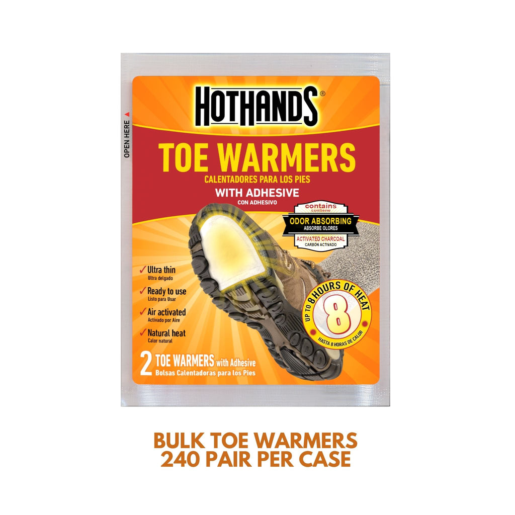 Bulk HotHands® Toe Warmers | 6 Displays, 240 Pair