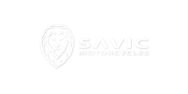 Savic Motorcycles - Logo Vinyl Decal