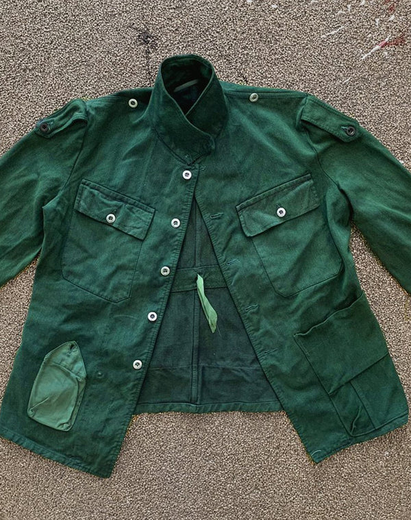Denim Jacket Emerald