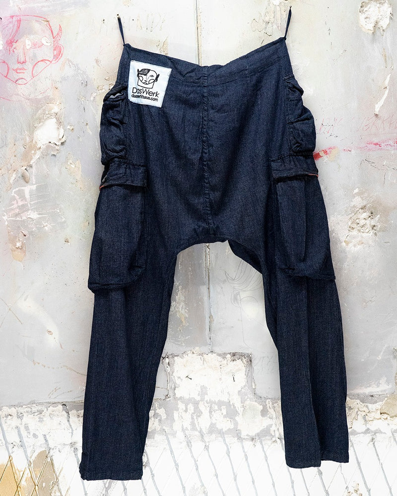Ella Trouser Soft Denim