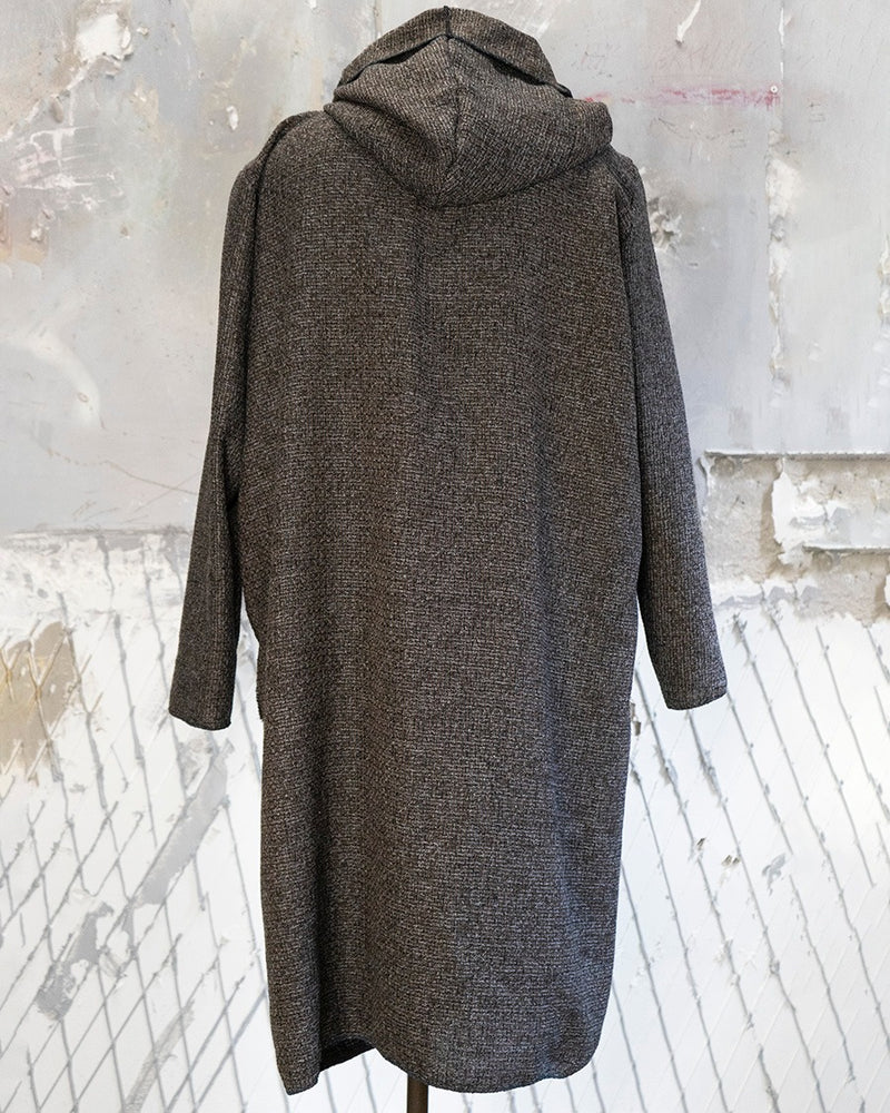 Hooded Cardigan Cocoa