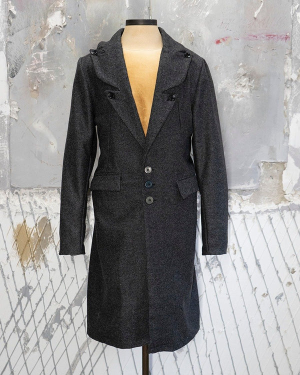 Deluxe Coat Light Grey