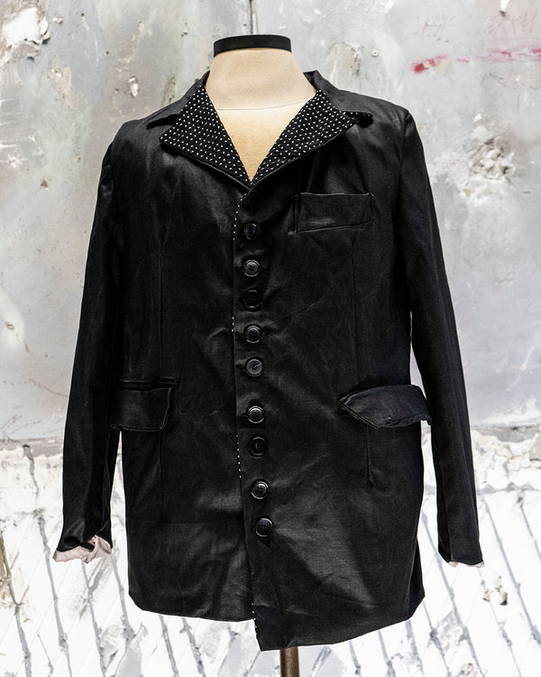 Blazer Jacket Black Metal