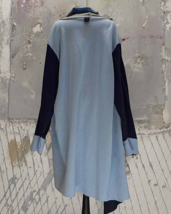 Long Baby Blue Cardigan