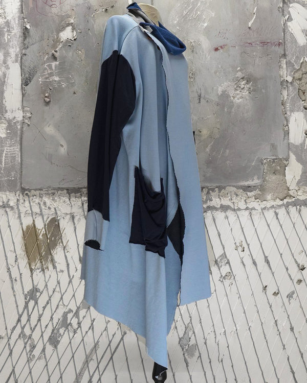 Long Cardigan Light Blue