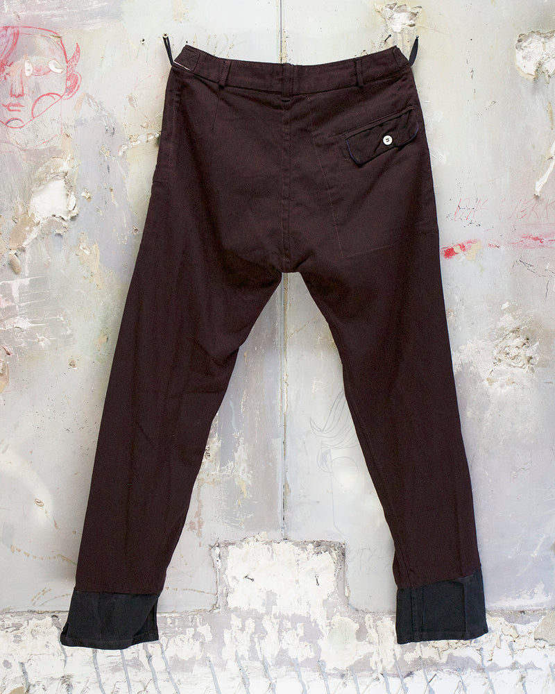Classic Fit Trouser Burgundy