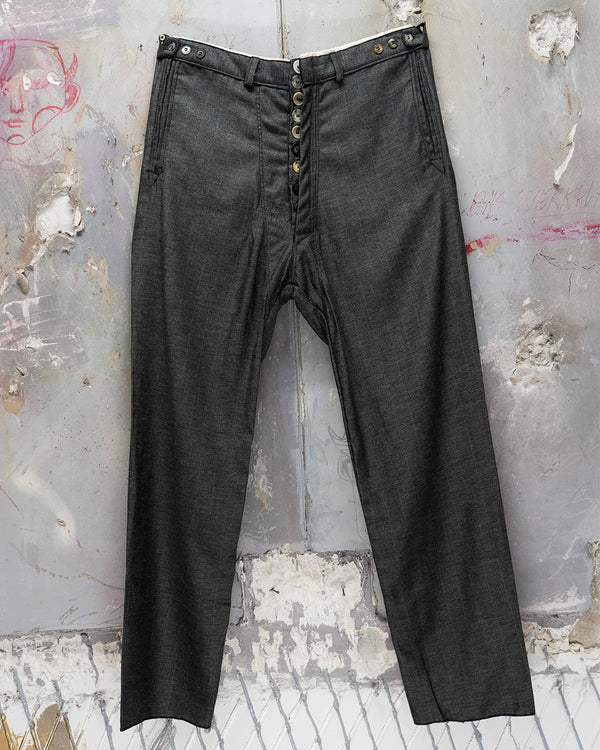 Classic Fit Trouser Deep Grey