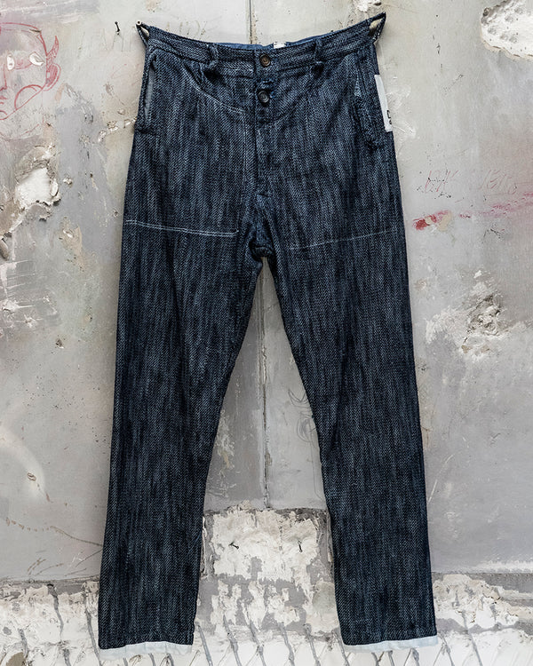 Braided Classic Fit Trouser Sailor Blue