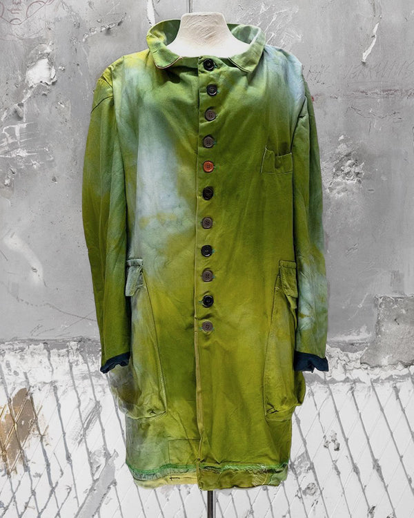 Reversible Coat Electric Green