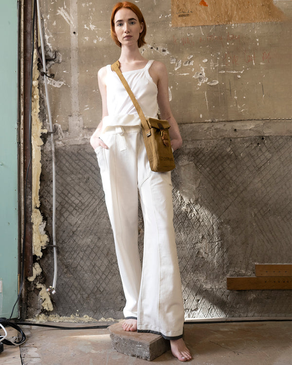 Ella Trouser White