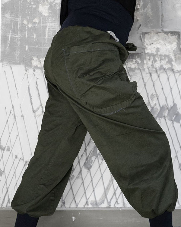 Samurai Trousers Moss Green