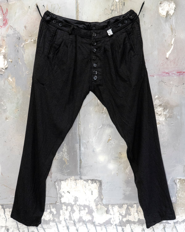 Classic Fit Trouser Black