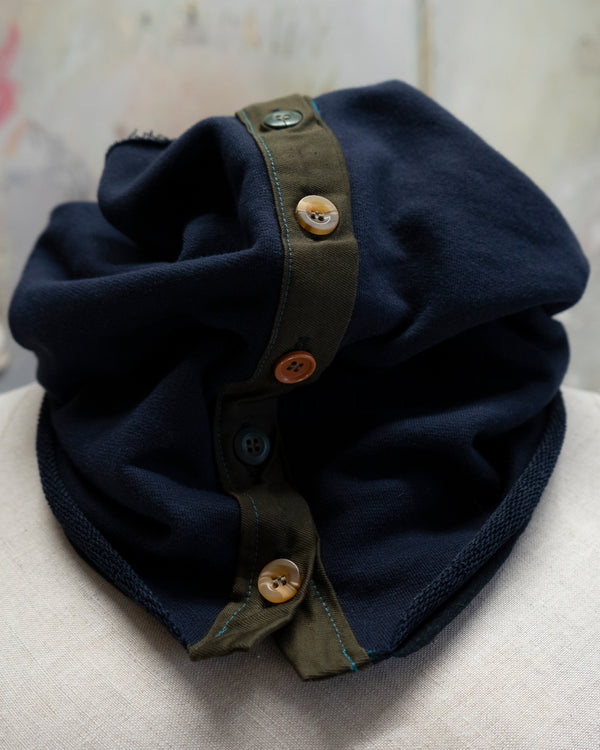 Neck Warmer Dark Blue