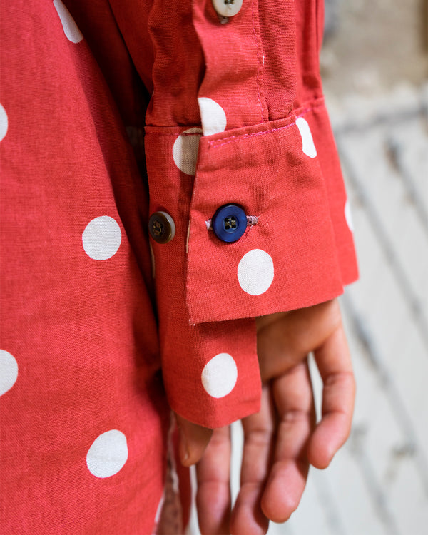 Polka-Dot Tunic / Shirt