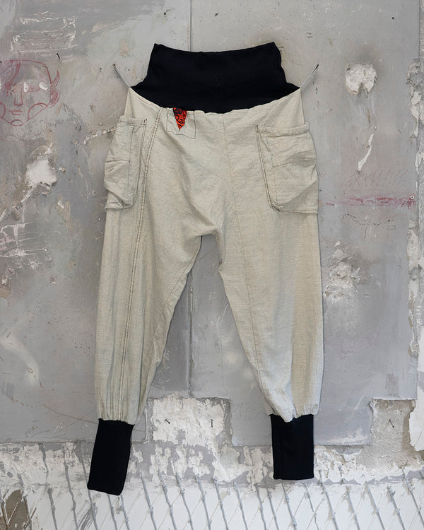 Samurai Trousers Off-White