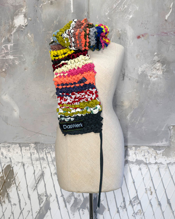 Braided Scarf Multi-Color