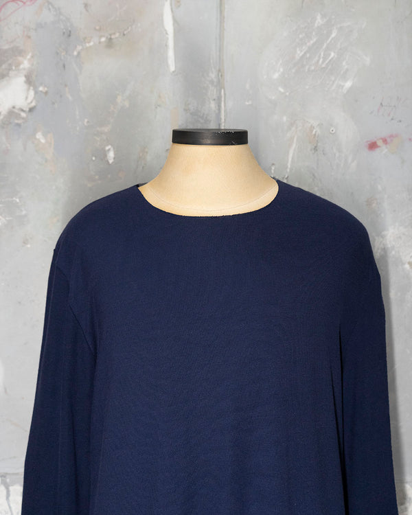 Longsleve Sweater-Top Navy