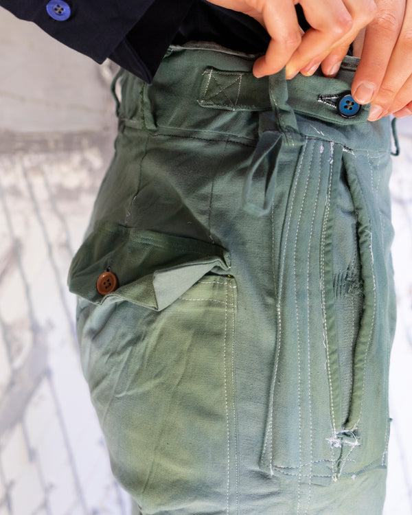 Classic Fit Trouser Green