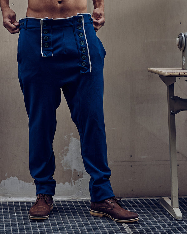 Das Werk Haus Signature Trouser Royal Blue