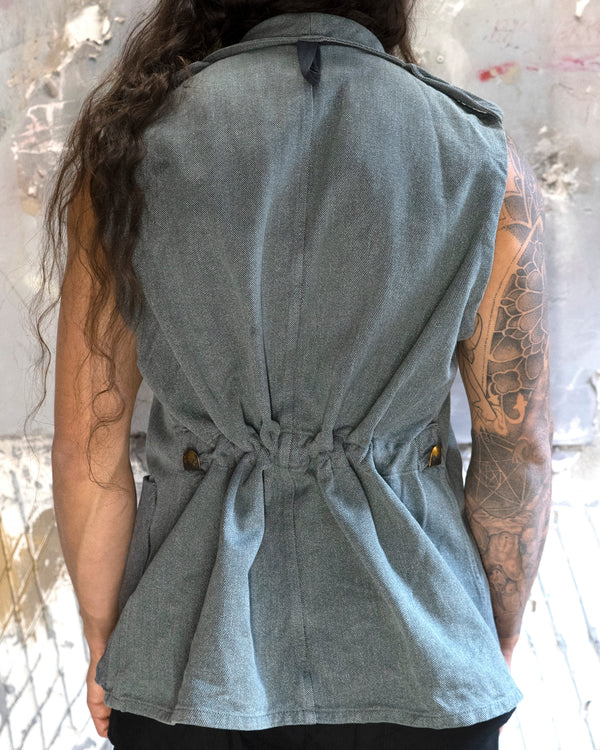 Raw Denim Vest