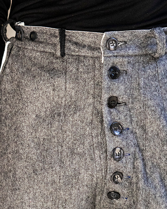 Classic Fit Trouser Winter Grey