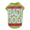 SMALL DOG - Bad Dog Lime Doggy T Shirt