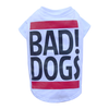 SMALL DOG - Bad Dog White Doggy T Shirt
