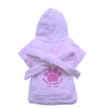 SMALL DOG - Bath Time Pink Doggy Robe