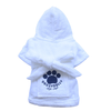 SMALL DOG - Bath Time White Doggy Robe