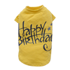 SMALL DOG - Birthday Doggy Yellow T Shirt