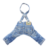 SMALL DOG - Doggy Washed Denim Braces