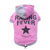 SMALL DOG - Doggy Racing Hoody Pink