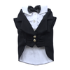 SMALL DOG - Black Doggy Tuxedo Jacket