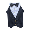 SMALL DOG - Doggy Tuxedo Pin Stripe Jacket