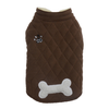 SMALL DOG - Double Fleece Doggy Snug Chocolate