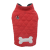 SMALL DOG - Double Fleece Doggy Snug Red