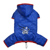 SMALL DOG - Dry Dog Onesie Blue