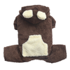 SMALL DOG - Fluffy Dog Chocolate Onesie