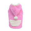 SMALL DOG - Fluffy Dog Pink Hoody