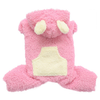 SMALL DOG - Fluffy Dog Pink Onesie