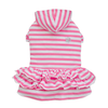 THICK DOG - Girly Dog Hoody Dress Pink