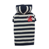SMALL DOG - Knitted Dog Hoody Navy