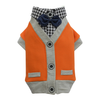SMALL DOG - Metro Dog  Jacket Orange