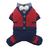 SMALL DOG - Metro Dog Onesie Red