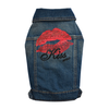 SMALL DOG - MWAH Dark Denim Doggy Vest
