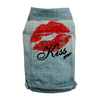 BIG DOG - MWAH Washed Out Denim Doggy Vest