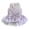 SMALL DOG - Pretty Polka Lilac Doggy Dress