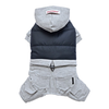 SMALL DOG - Snowboarder Doggy Onesie Grey